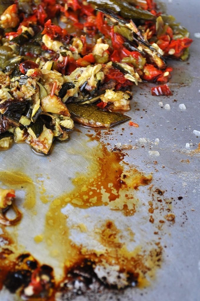 Bruschetta de Pimentos Vermelhos