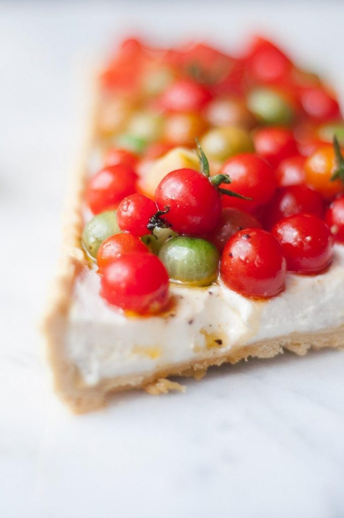 Tarte de Tomate e Ricotta