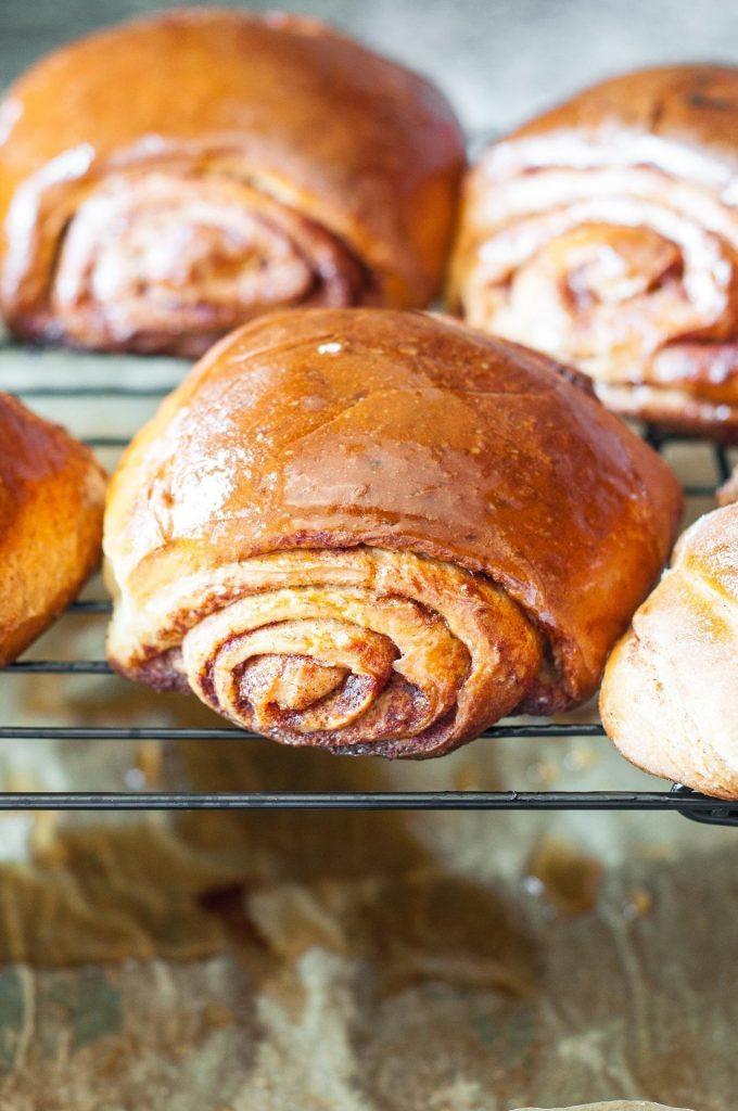 Cinnamon Buns da Nordic Bakery