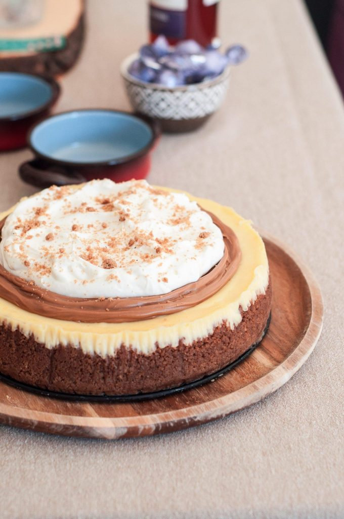 Cheesecake de Speculaas